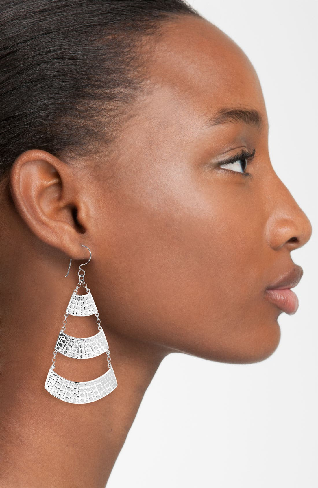 Alternate Image 2  - Anna Beck 'Flores' Large Pyramid Earrings