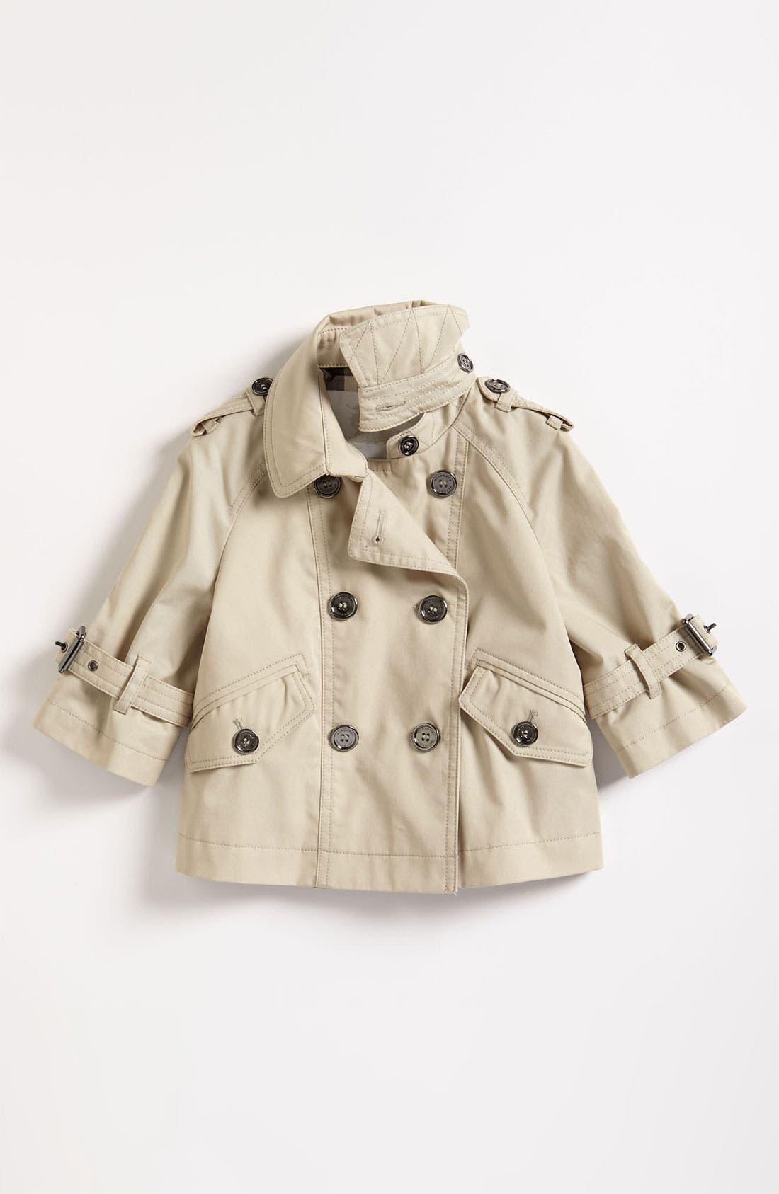 Alternate Image 1 Selected - Burberry Jacket (Toddler)