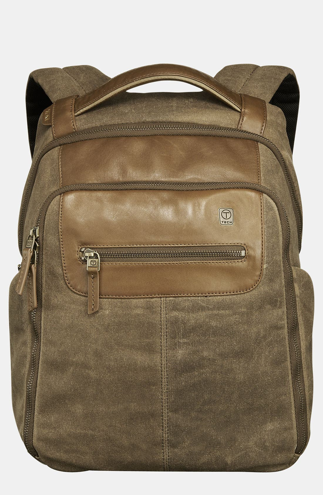 Main Image - T-Tech by Tumi 'Forge - Steel City' Slim Backpack