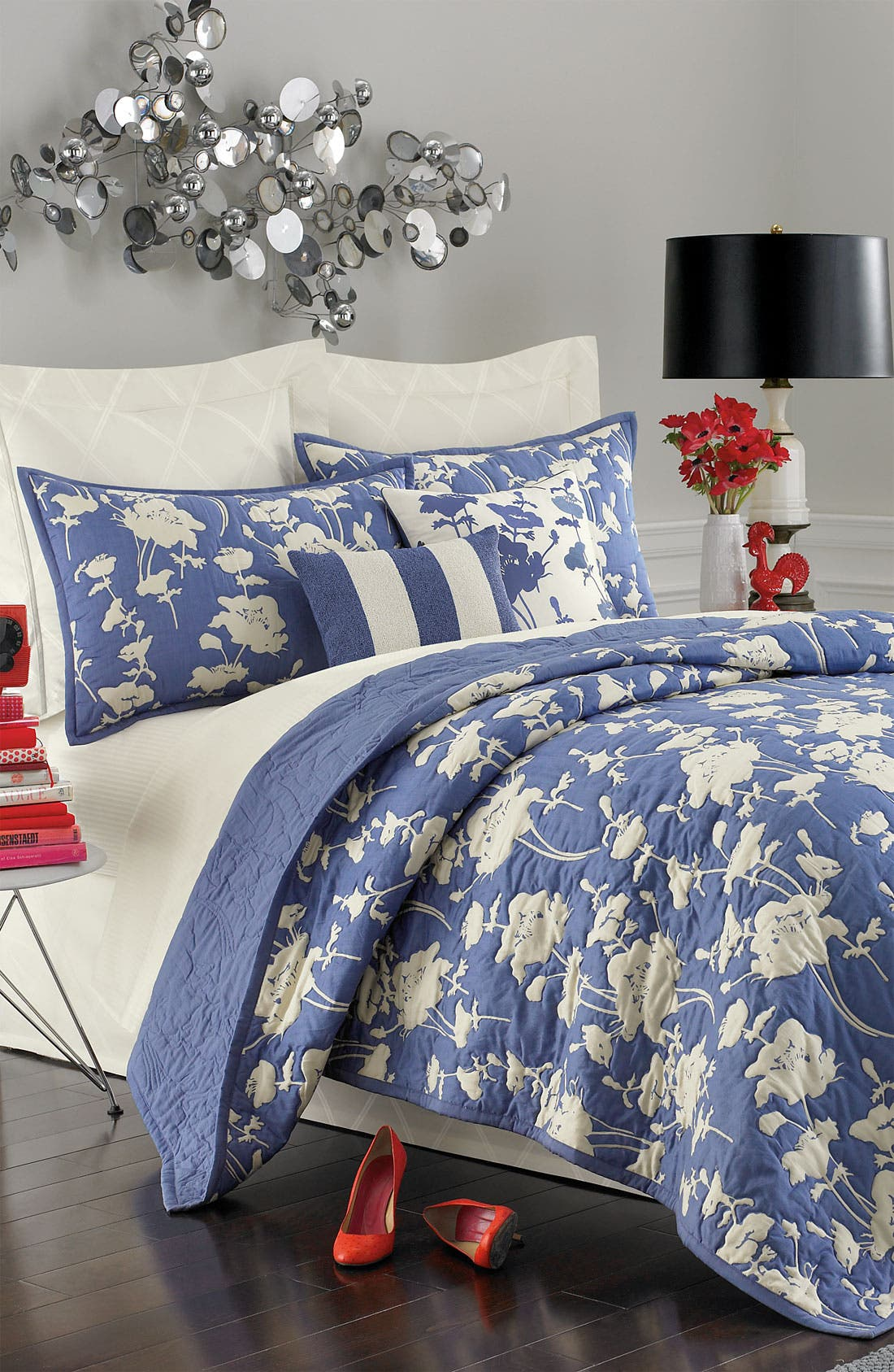 Alternate Image 3  - kate spade new york 'magnolia park' duvet cover