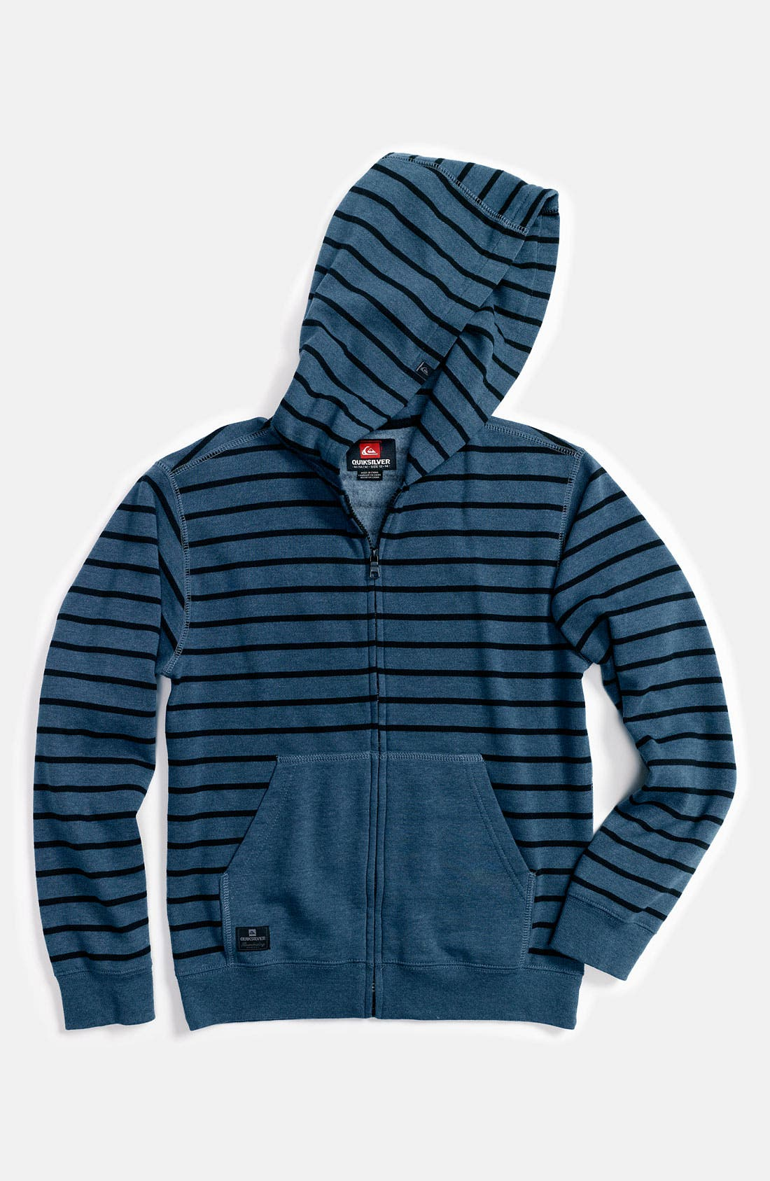 Alternate Image 1 Selected - Quiksilver 'Good Rev' Hoodie (Little Boys)