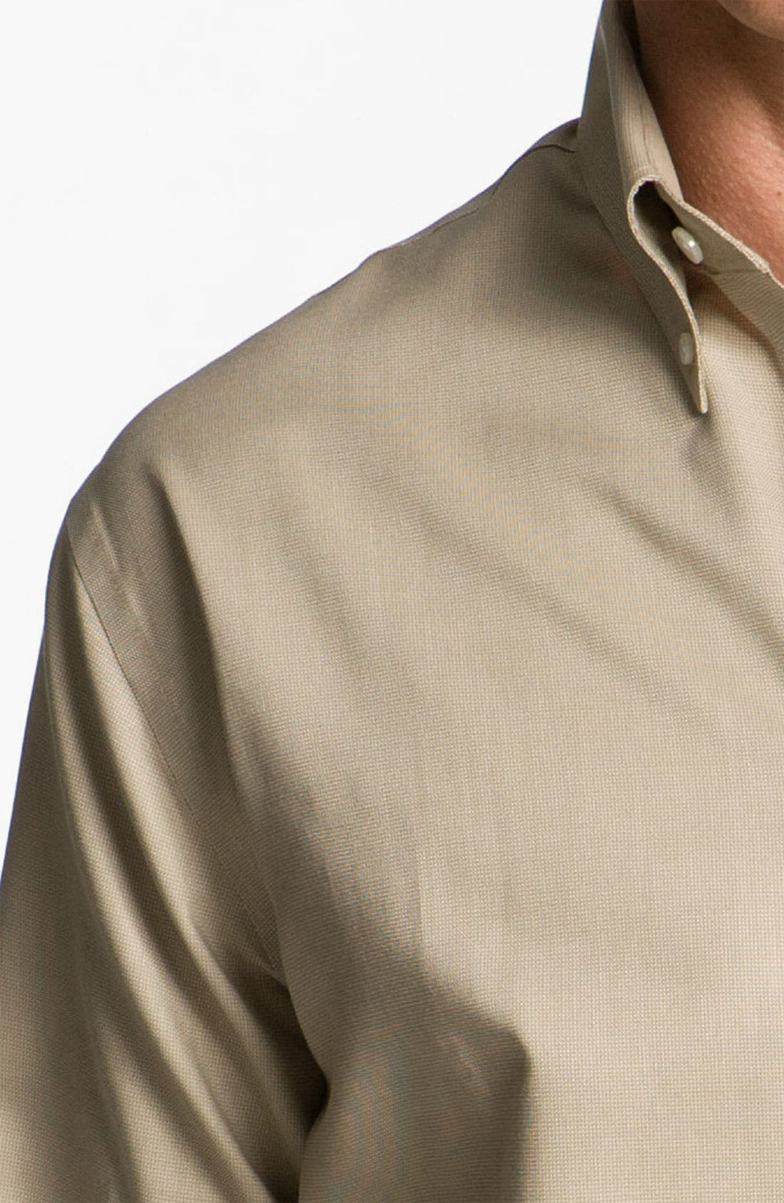 Alternate Image 3  - Cutter & Buck 'Nailshead - Epic Easy Care' Classic Fit Sport Shirt (Big & Tall)