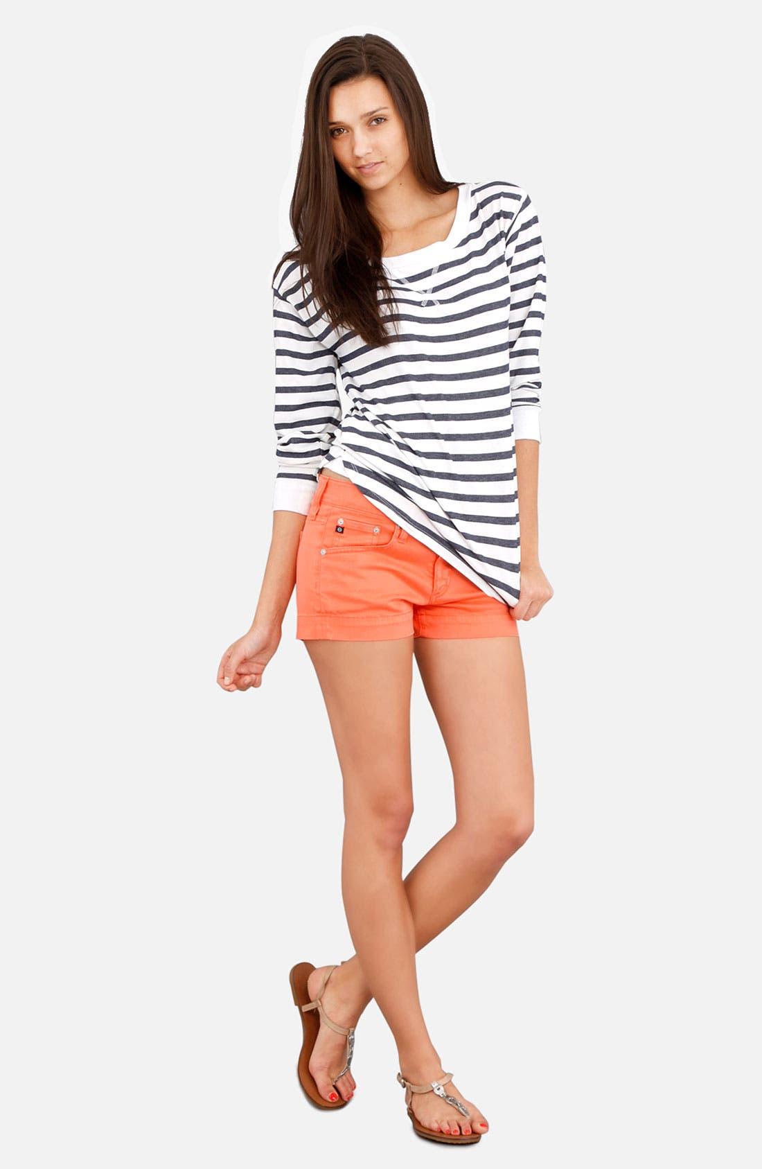Alternate Image 4  - AG Jeans Nautical Stripe Top