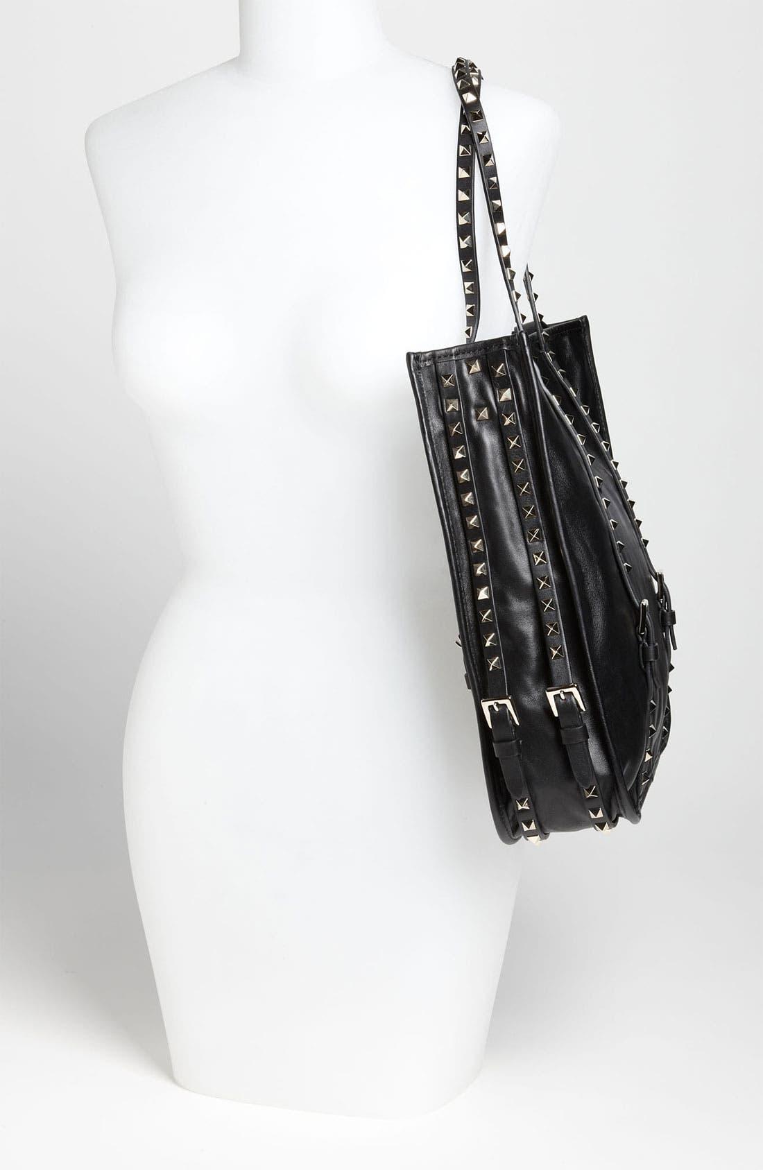 Alternate Image 2  - Valentino 'Rockstud' Leather Shopper Tote