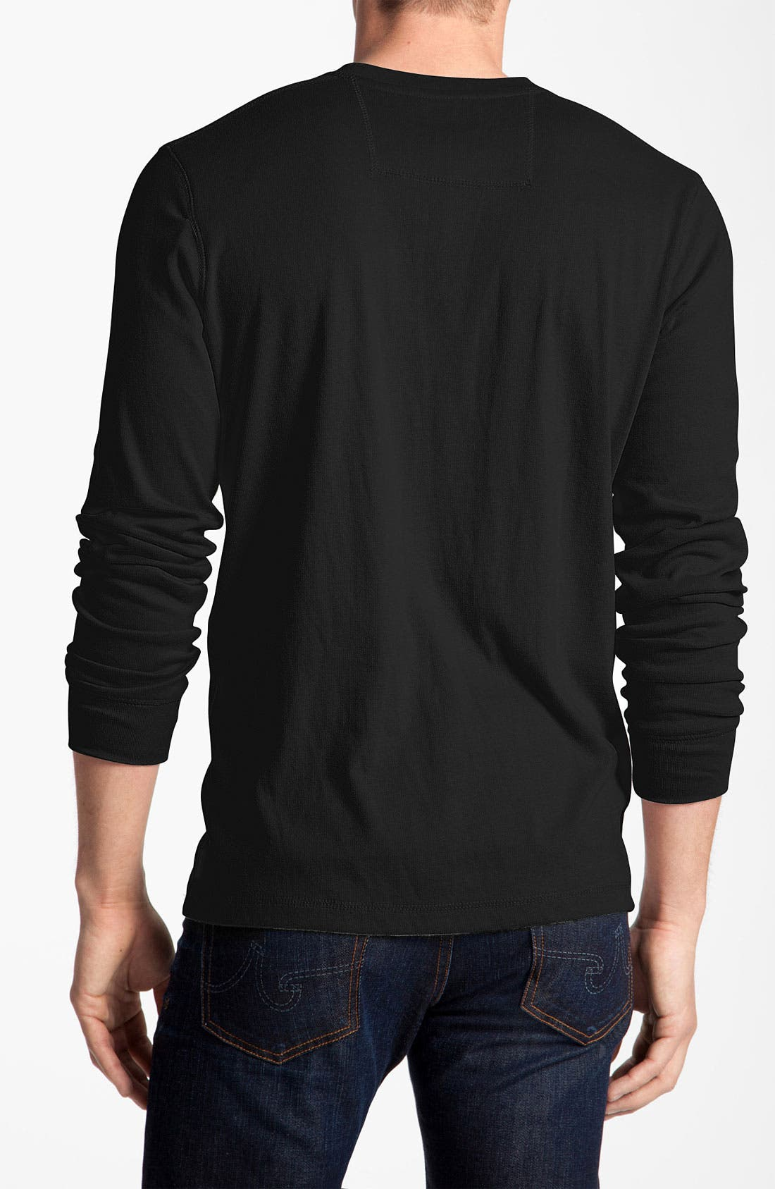 Alternate Image 2  - Quiksilver Long Sleeve Knit T-Shirt