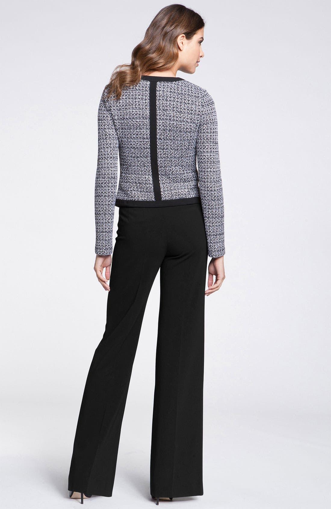 Alternate Image 2  - St. John Collection 'Spencer' Tweed Knit Jacket