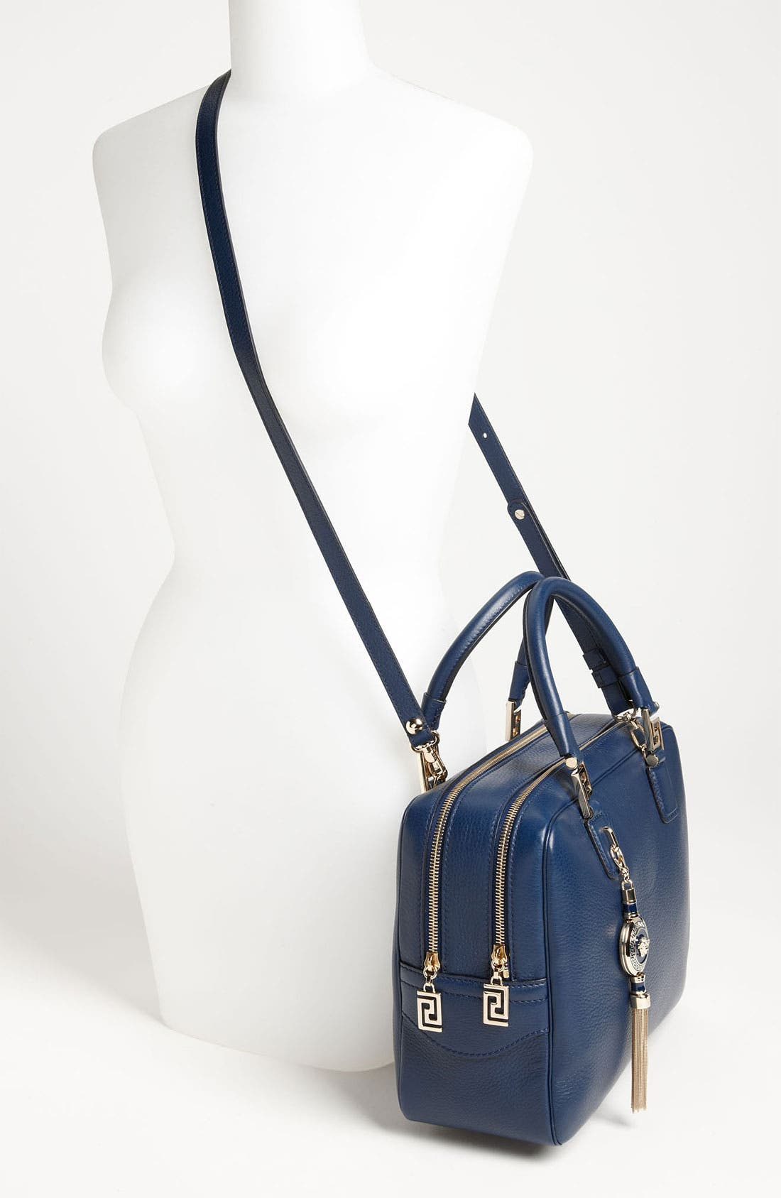 Alternate Image 2  - Versace Structured Leather Satchel