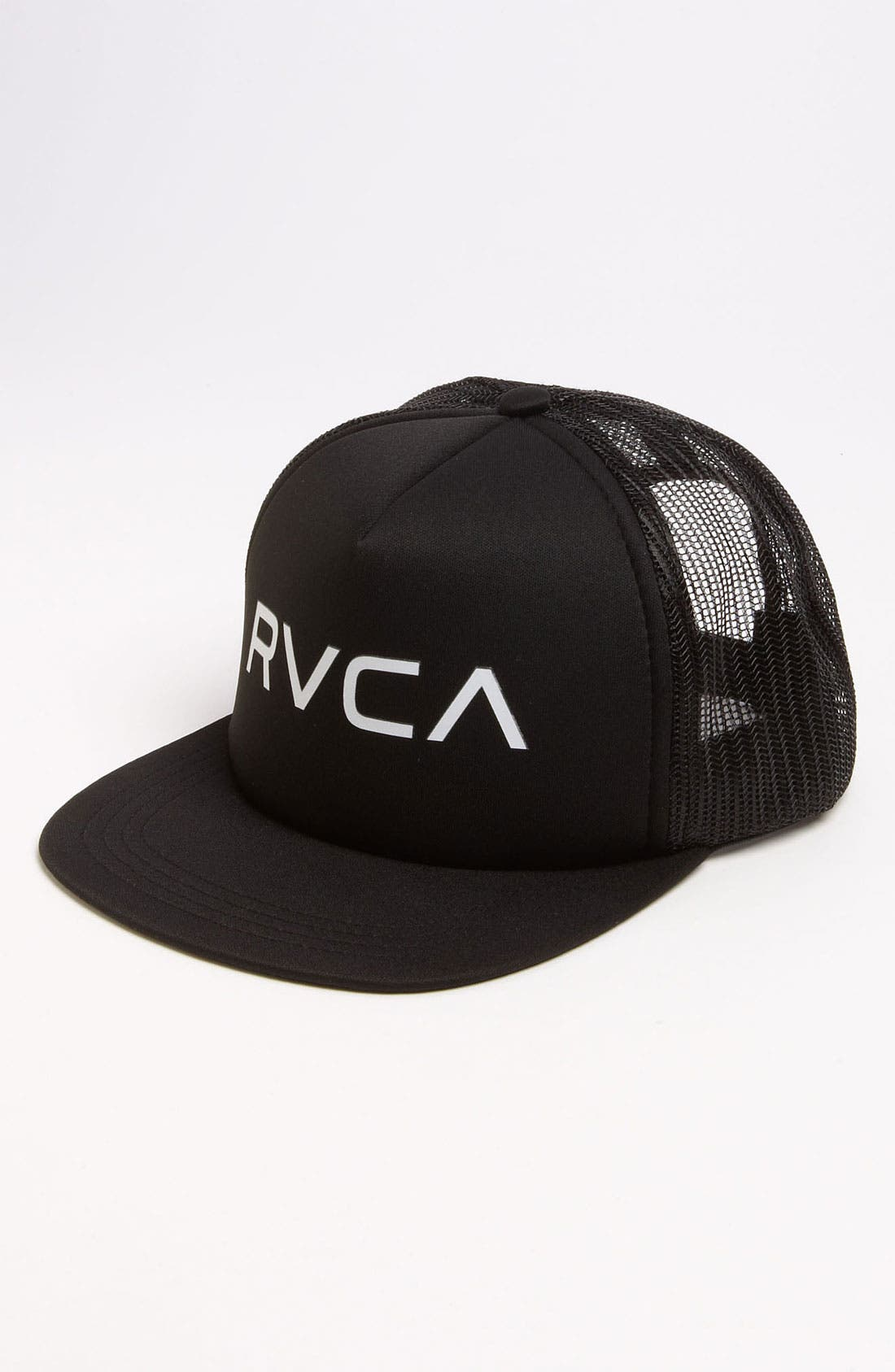 Alternate Image 1 Selected - RVCA Snapback Trucker Hat (Big Boys)