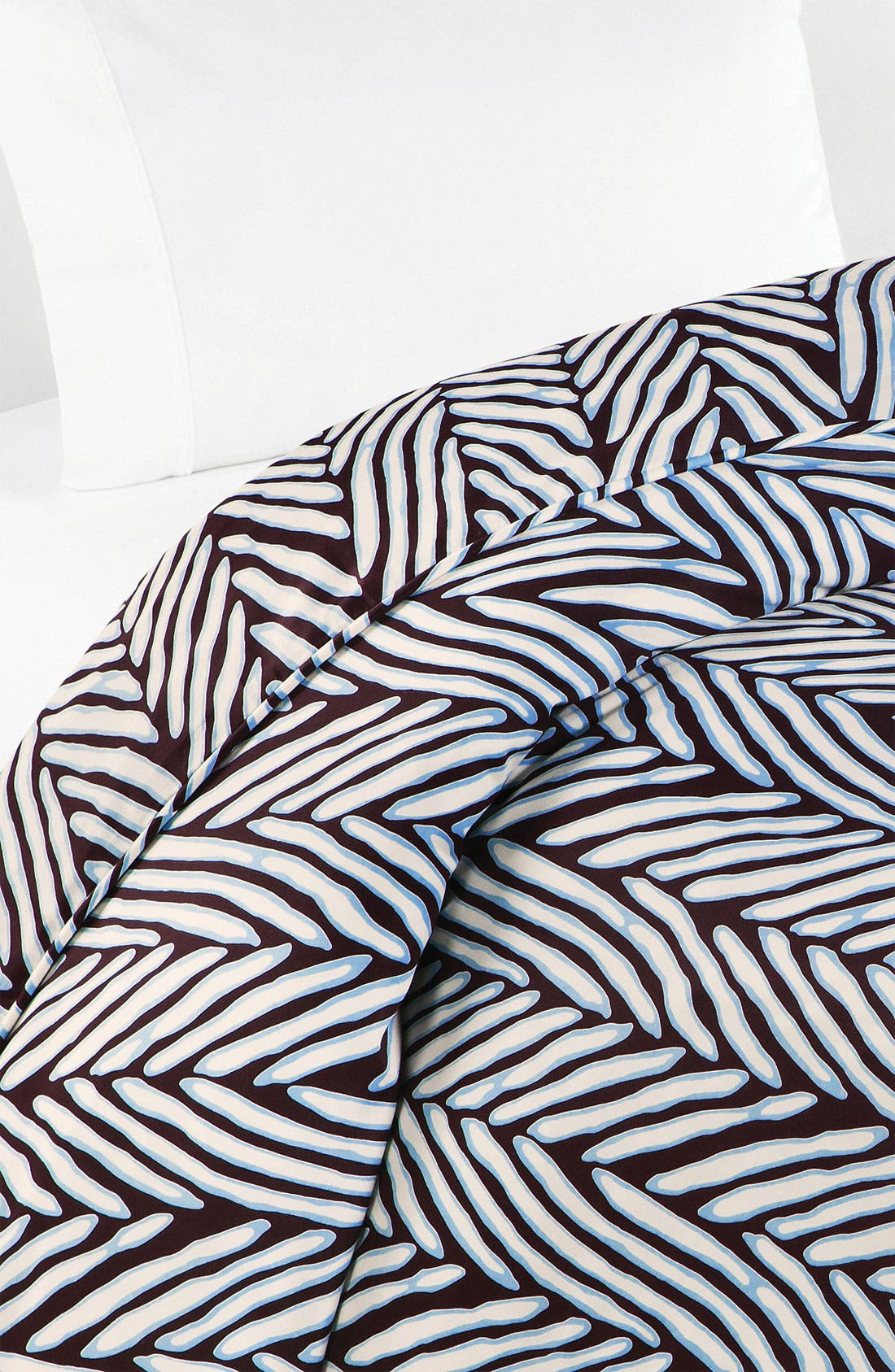 Alternate Image 1 Selected - Diane von Furstenberg 'Herringbone' 300 Thread Count Duvet Cover