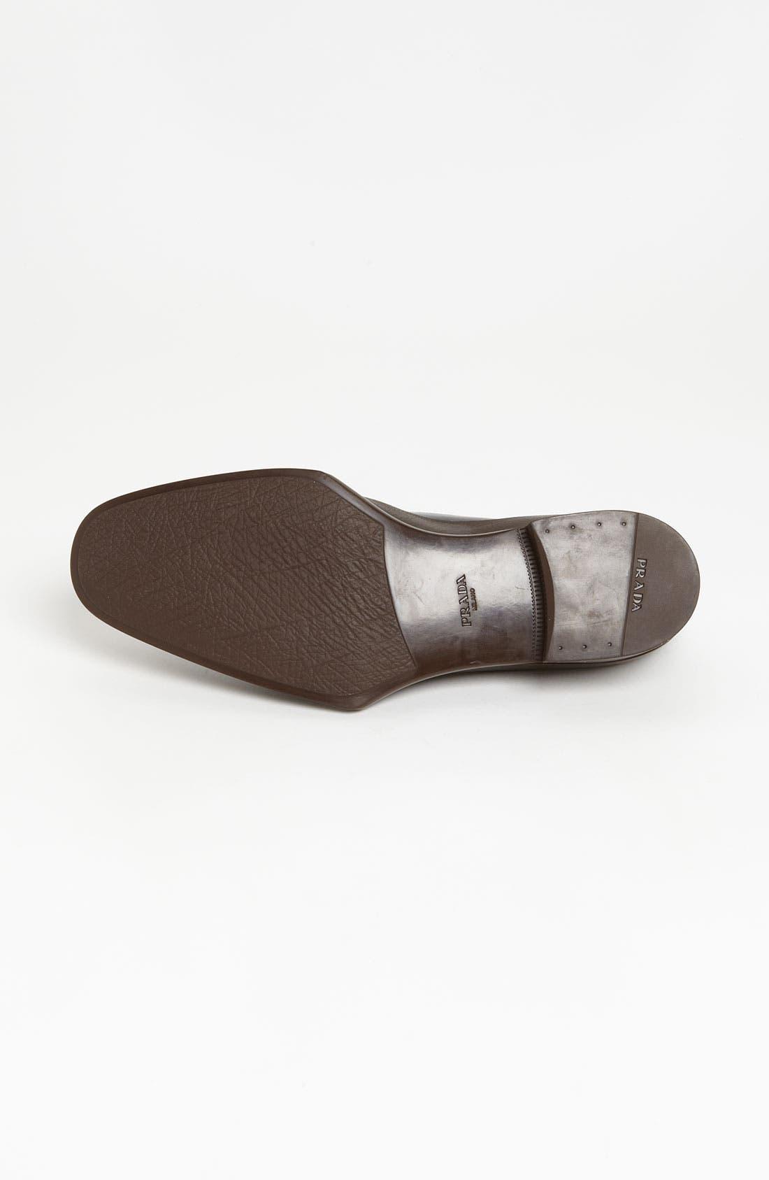 Alternate Image 4  - Prada Rubber Tipped Loafer