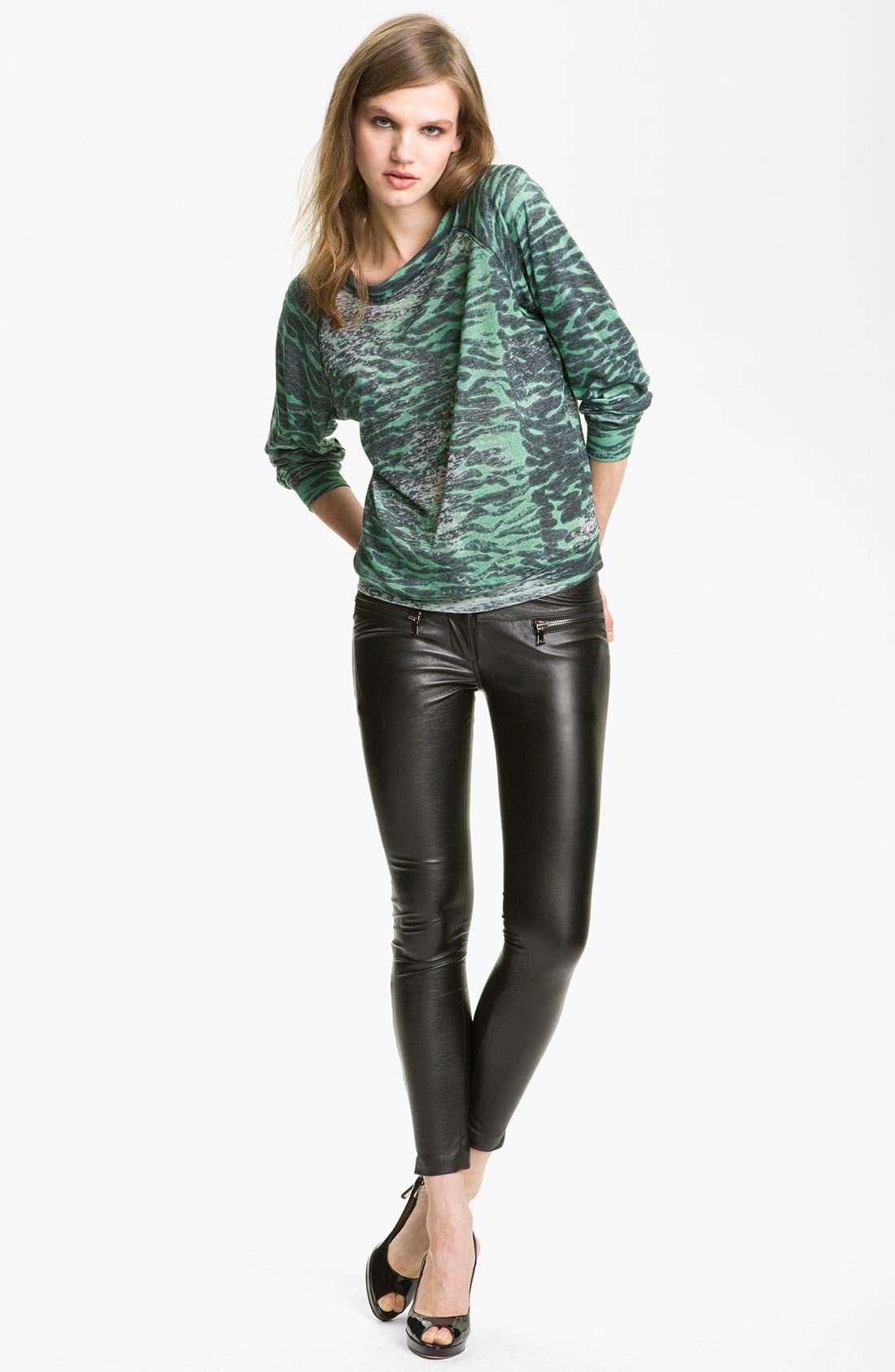 Alternate Image 1 Selected - Kelly Wearstler 'Idol' Burnout Sweatshirt