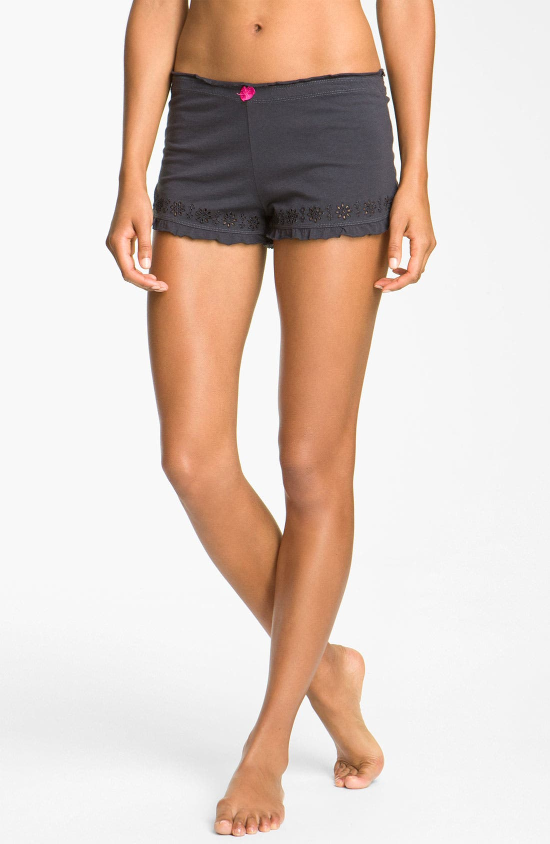Alternate Image 1 Selected - PJ Salvage 'Dye Cut Cutie' Sleep Shorts