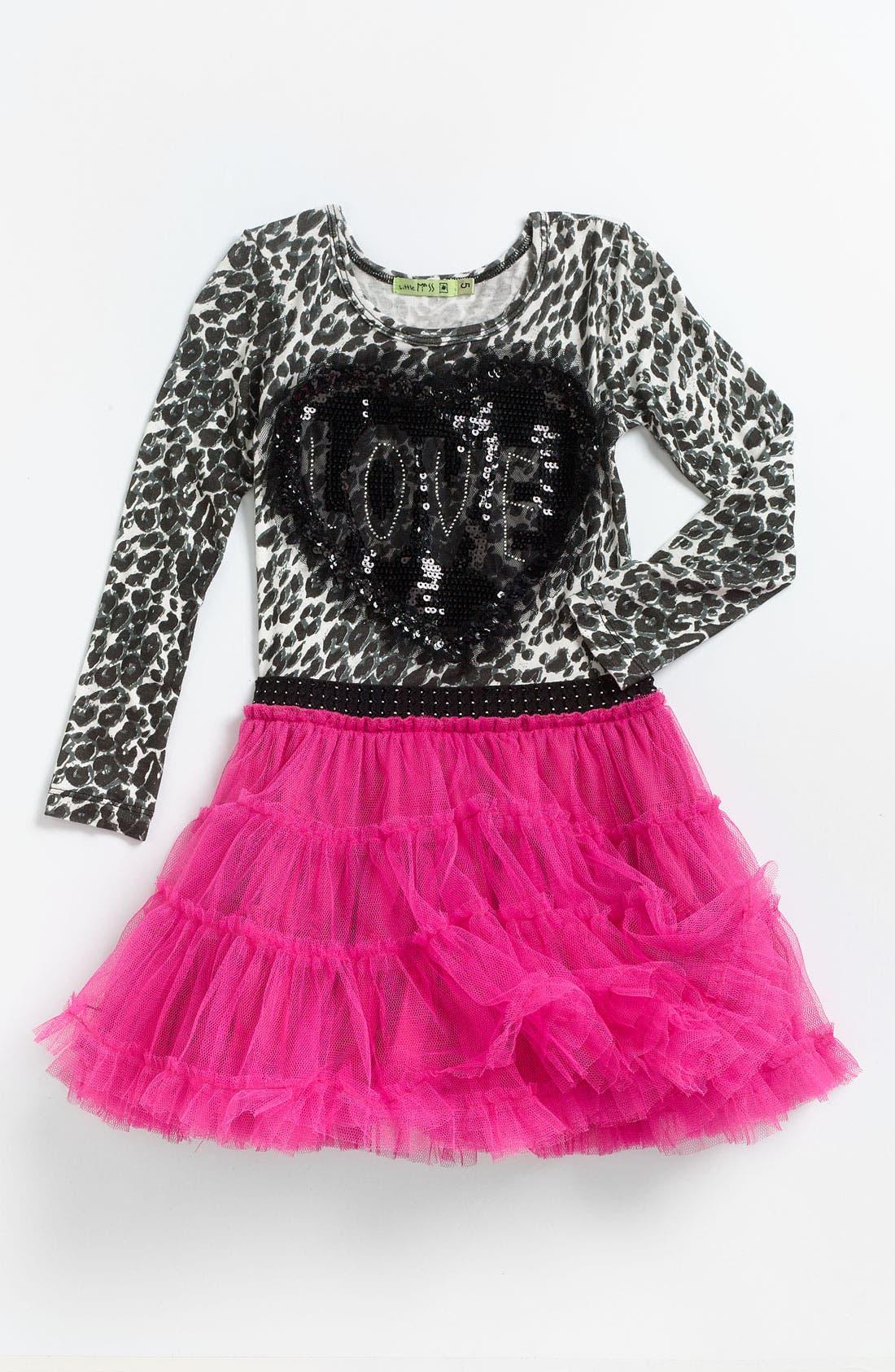 Main Image - Little Mass 'Princess' Tutu Dress (Little Girls)