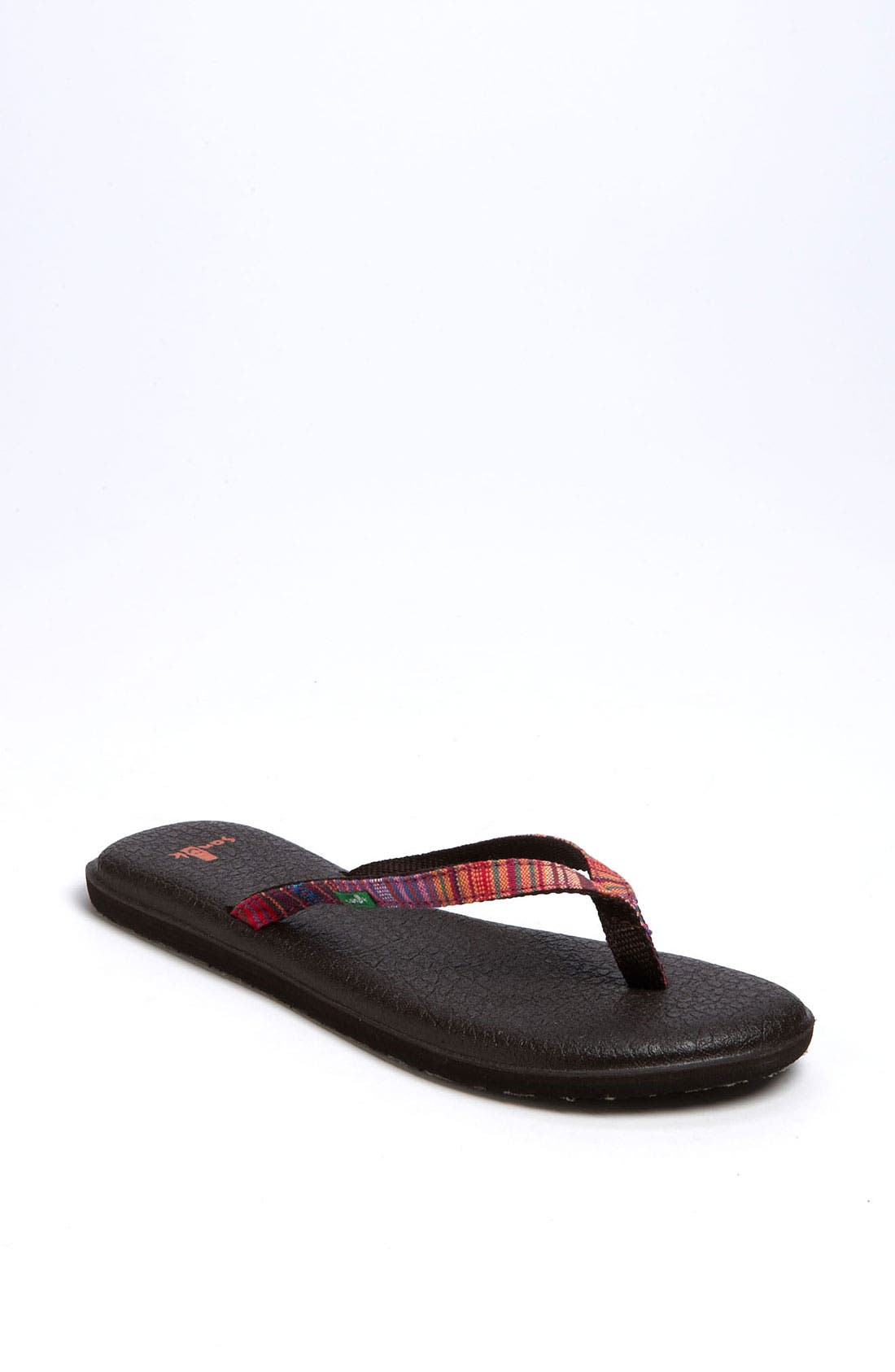 Alternate Image 1 Selected - Sanuk 'Yoga Spree Funk' Flip Flop (Women)
