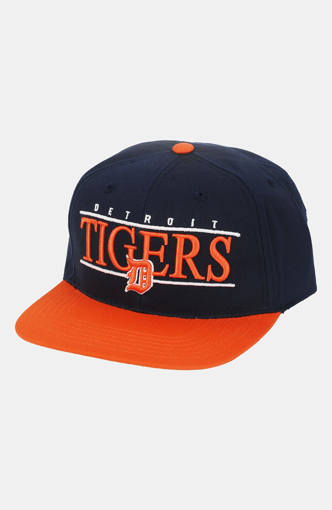 Main Image - American Needle 'Detroit Tigers - Nineties' Twill Snapback Baseball Cap
