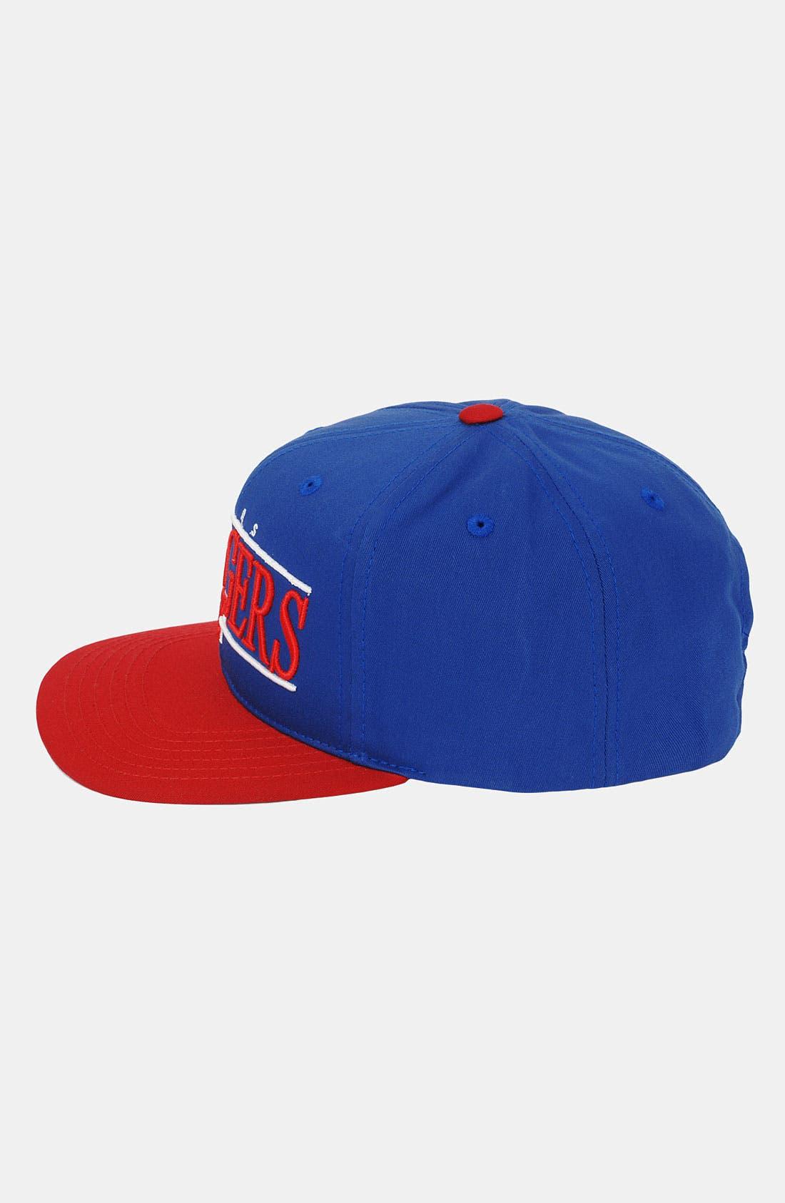 Alternate Image 3  - American Needle 'Texas Rangers - Nineties' Twill Snapback Baseball Cap