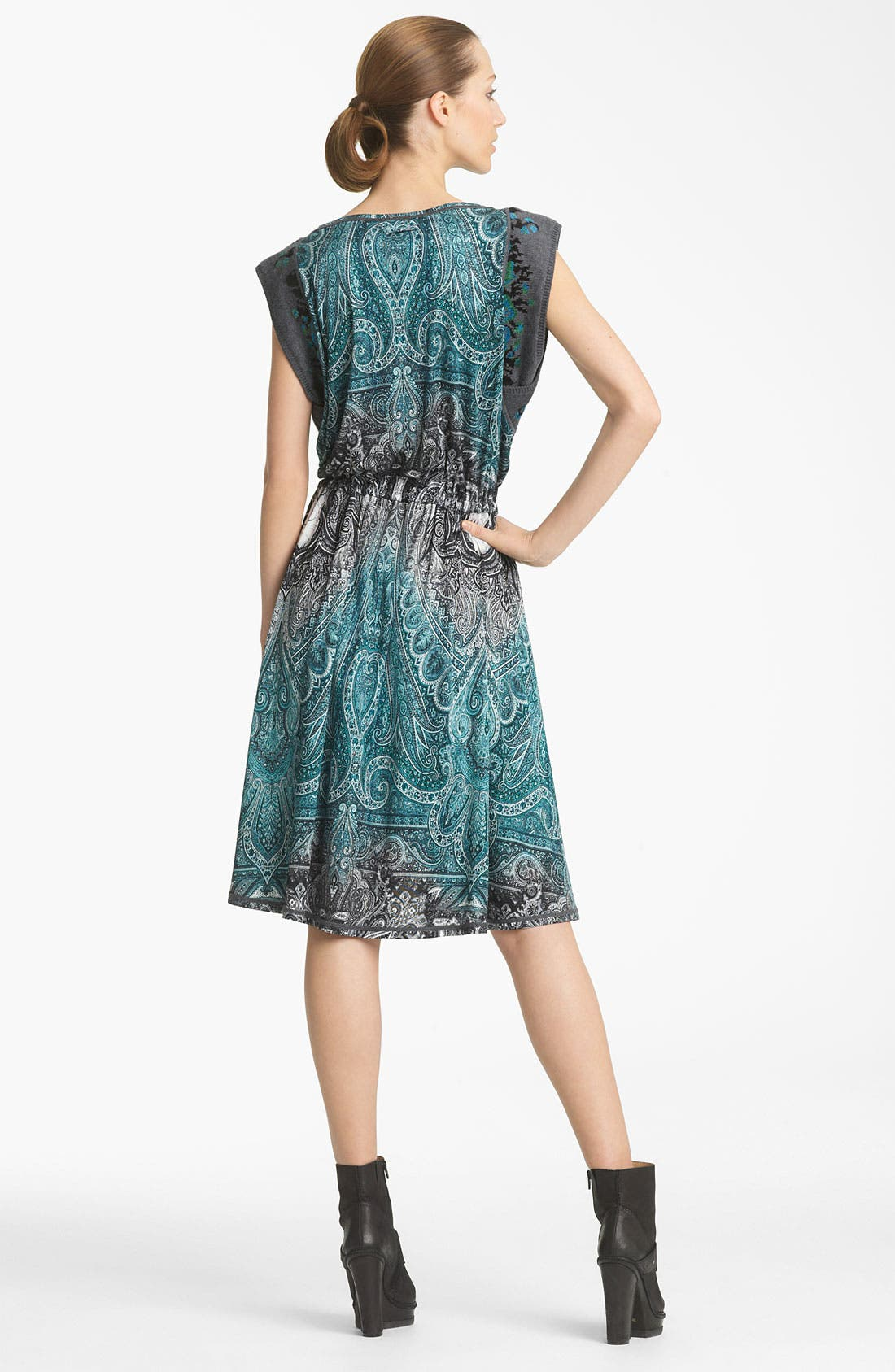 Alternate Image 2  - Jean Paul Gaultier Fuzzi Paisley Print Dress