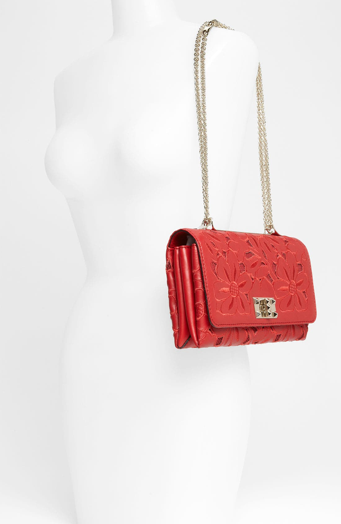 Alternate Image 2  - Valentino 'Girello Flap' Leather Shoulder Bag