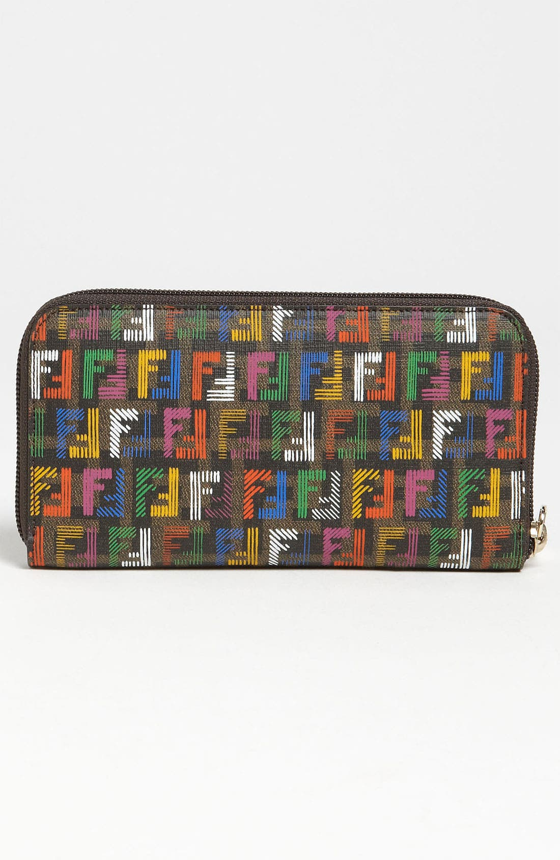 Alternate Image 4  - Fendi 'Forever - Techno Zucca' Continental Wallet