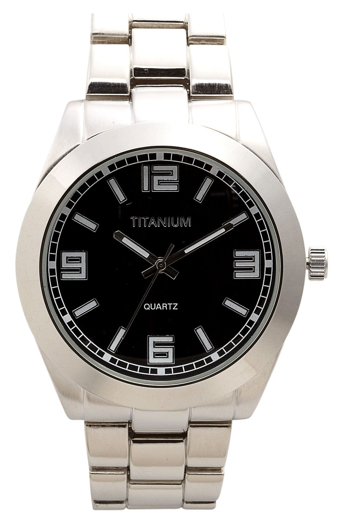 Alternate Image 1 Selected - Titanium 'Pop Color' Watch