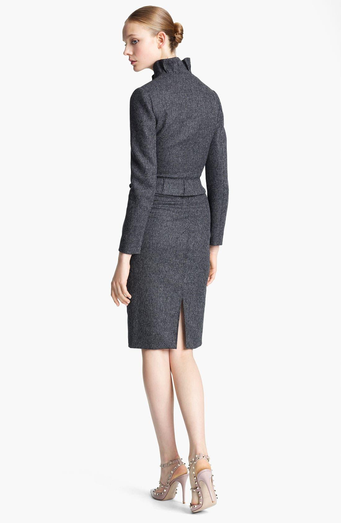 Alternate Image 2  - Valentino Ruffle Tweed Jacket