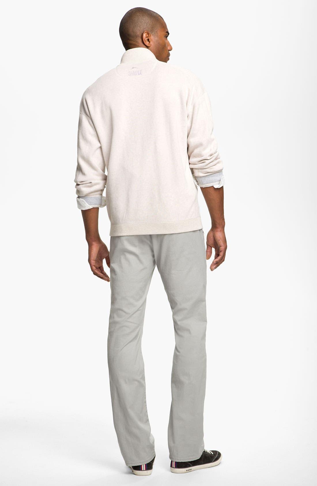 Alternate Image 4  - Tommy Bahama 'Flip Side Pro' Reversible Half Zip Pullover