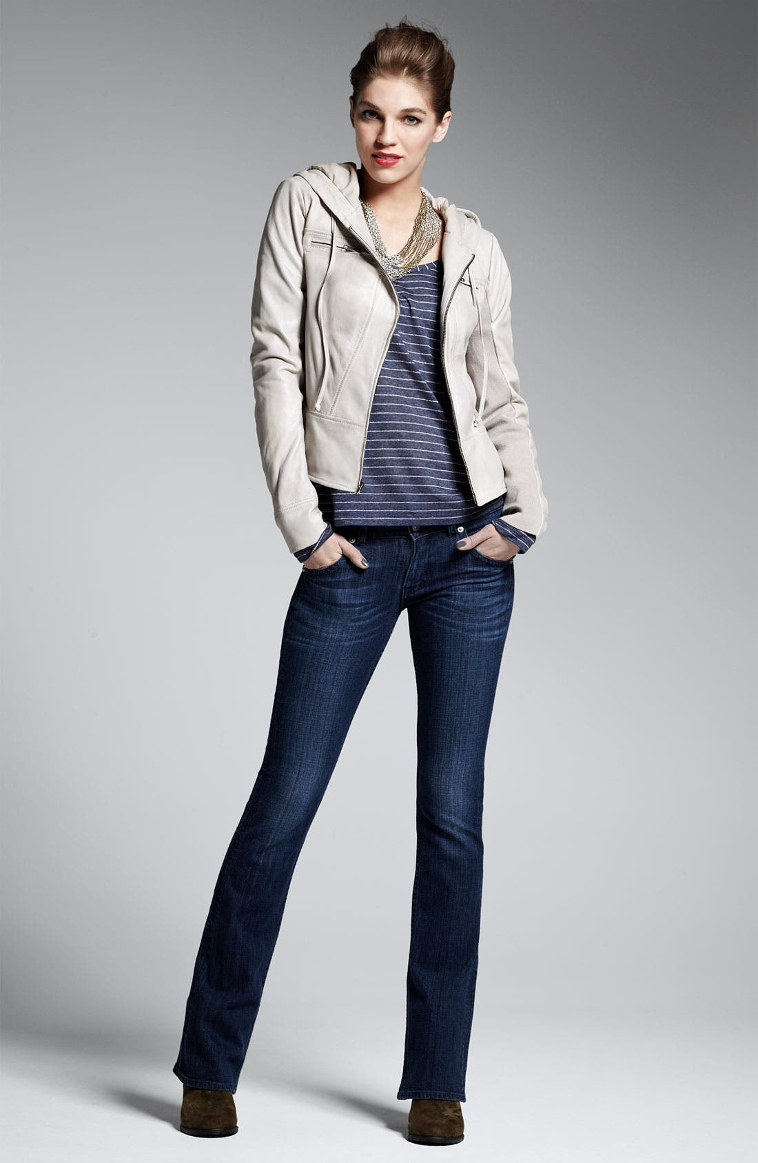 Alternate Image 2  - Splendid Lurex® Stripe Top (Nordstrom Exclusive)