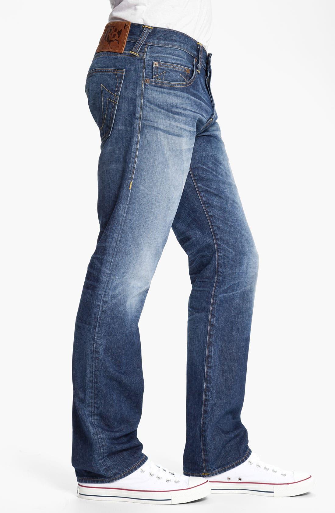 Alternate Image 3  - True Religion Brand Jeans 'Bobby Phoenix' Straight Leg Jeans (Last Stand)