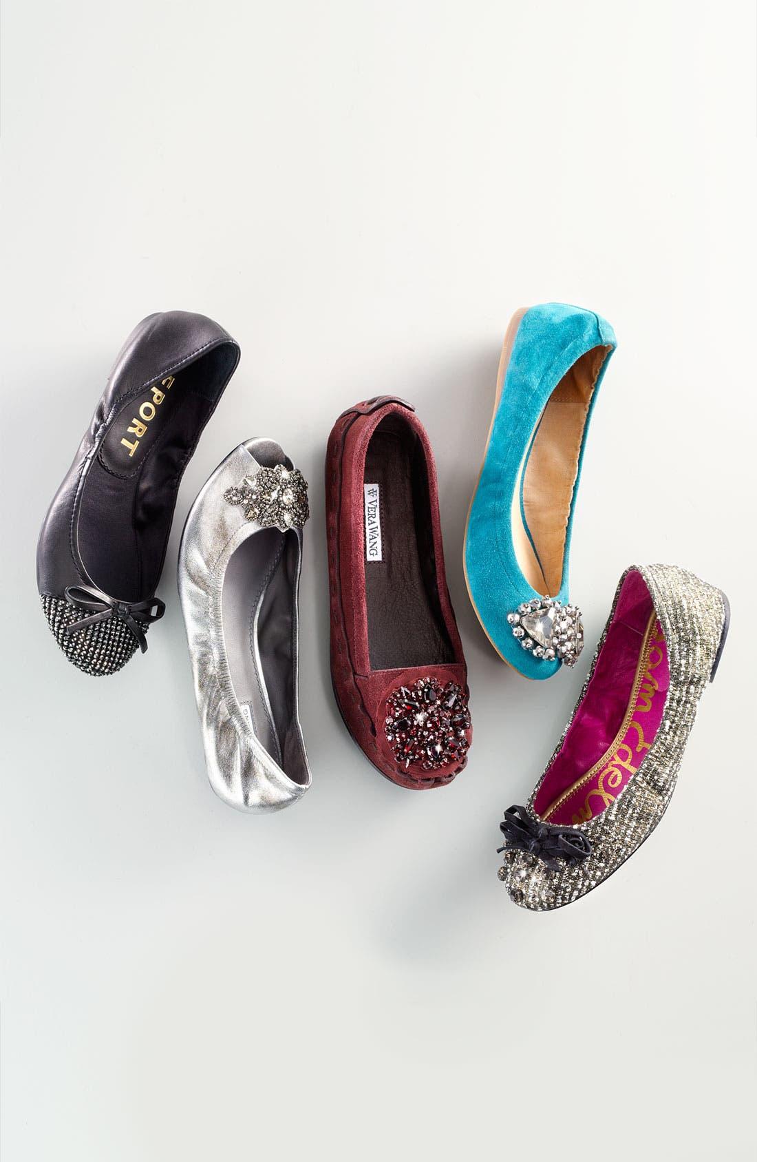 Alternate Image 5  - Vera Wang Footwear 'Indigo' Flat