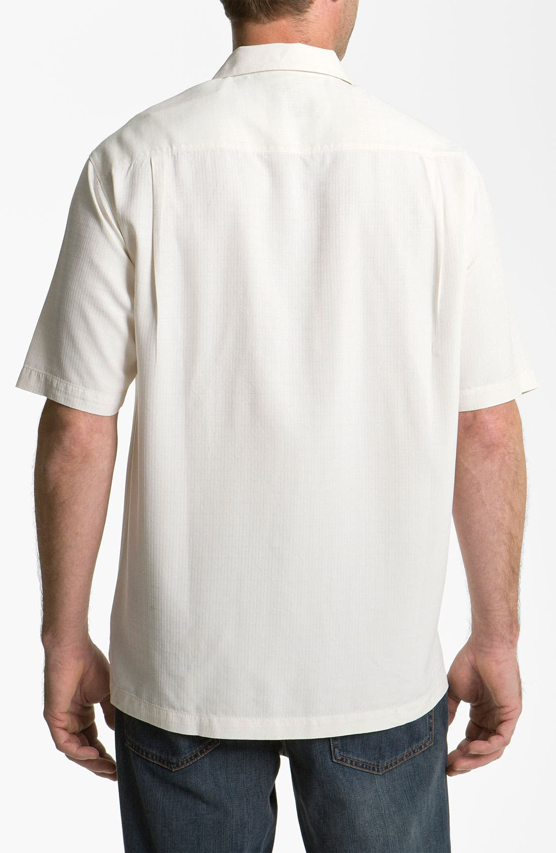 Alternate Image 2  - Tommy Bahama 'Congo' Silk Campshirt