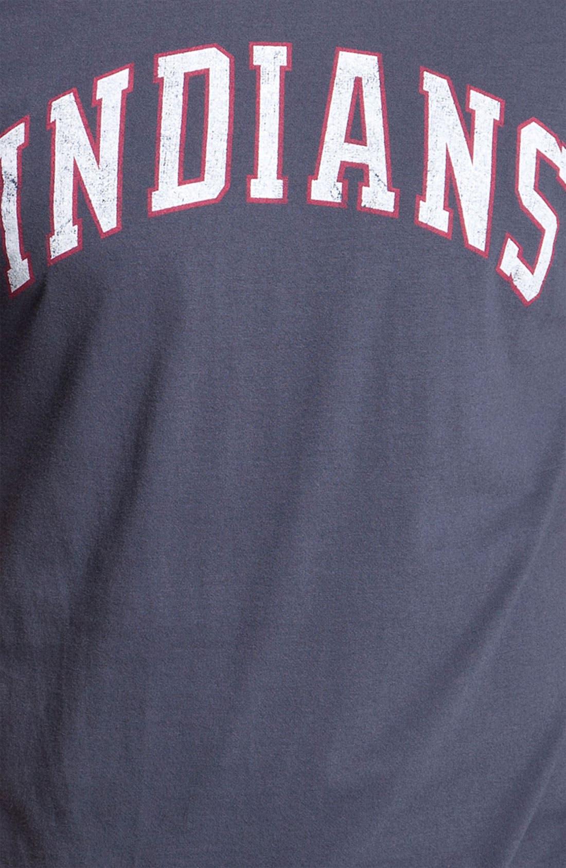 Alternate Image 2  - Wright & Ditson 'Cleveland Indians' Baseball T-Shirt