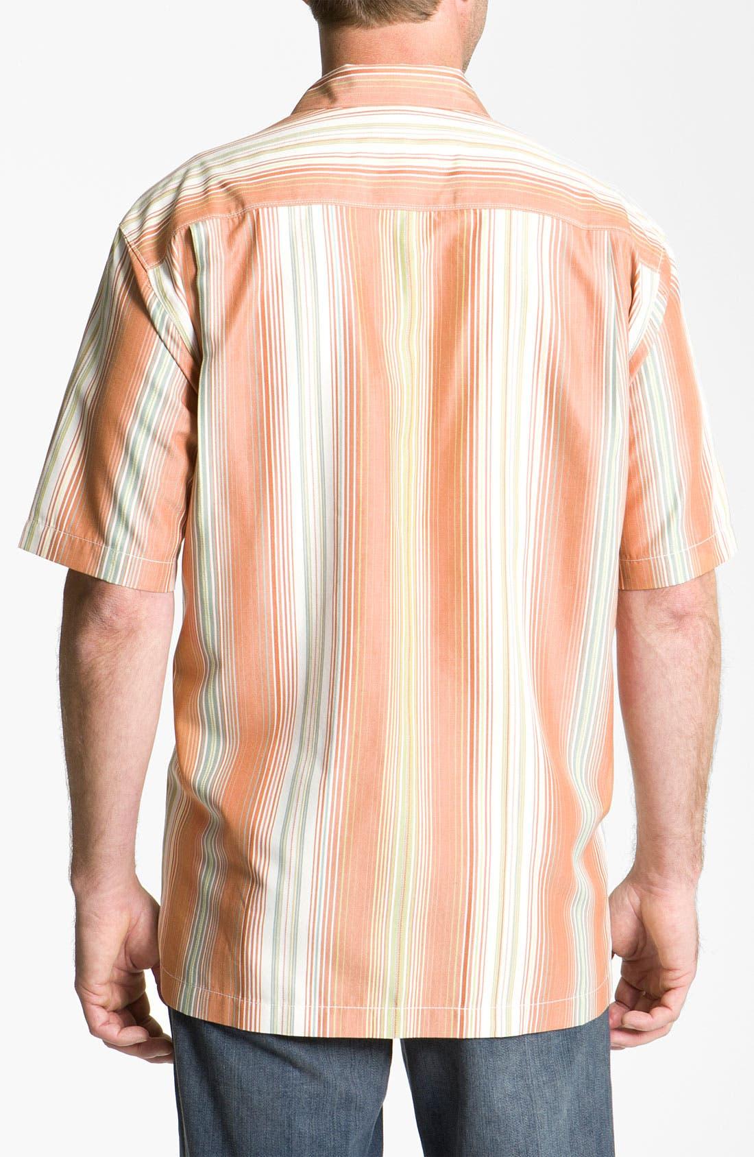 Alternate Image 2  - Tommy Bahama 'Continental Divide' Silk Campshirt
