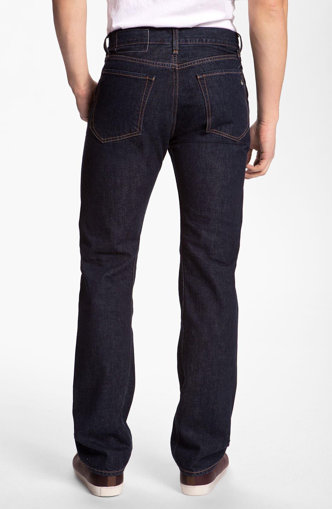 Alternate Image 1 Selected - rag & bone 'RB11X' Straight Leg Jeans