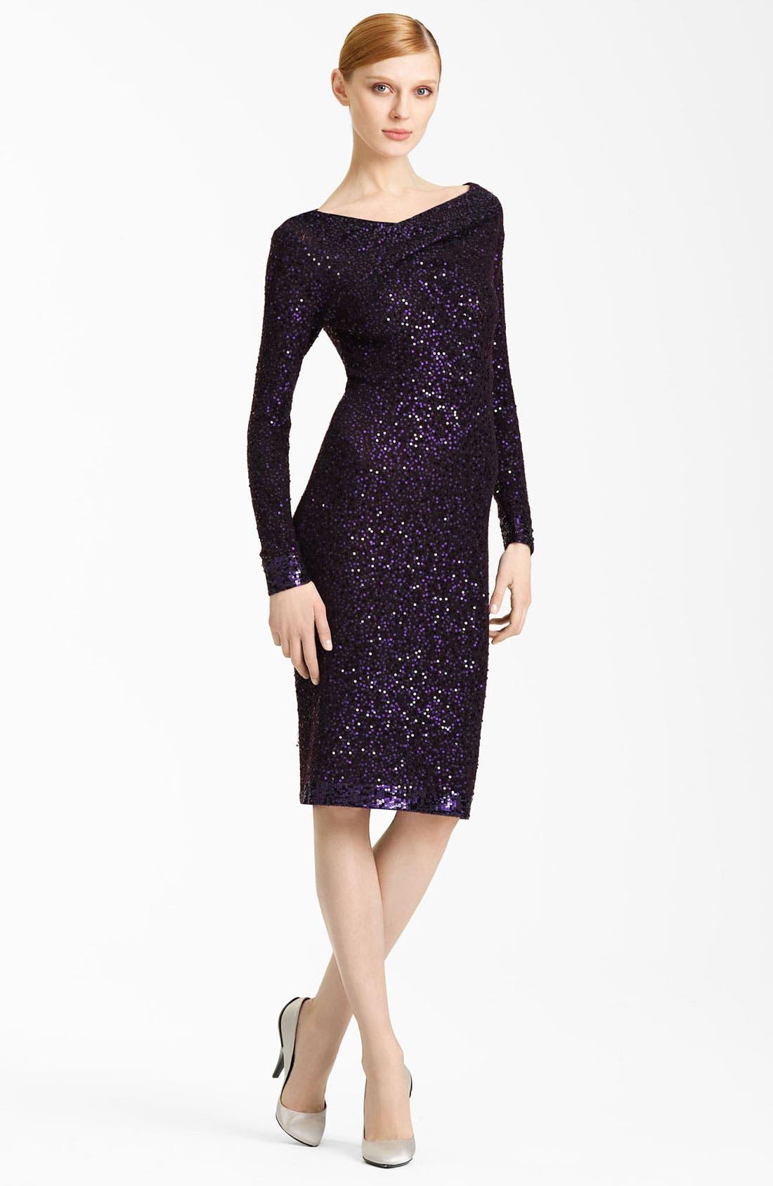 Main Image - Donna Karan Collection Sequin Dress