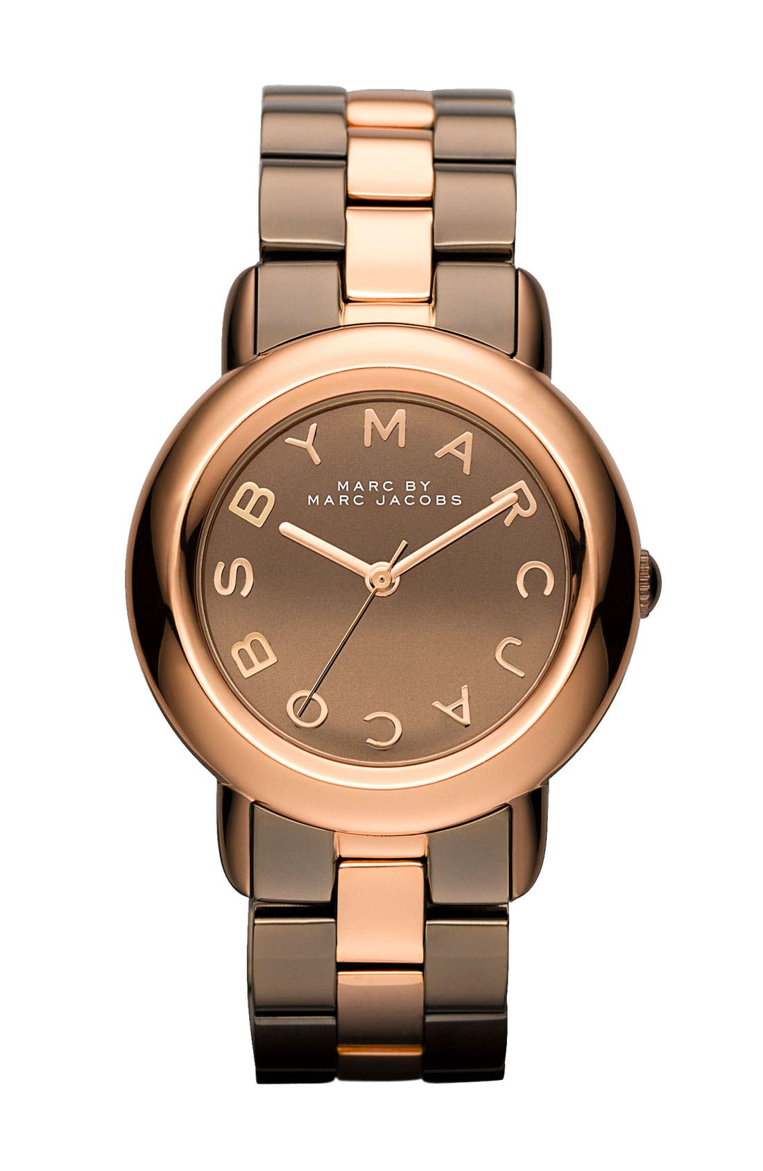 Alternate Image 1 Selected - MARC BY MARC JACOBS 'Marci' Mirror Dial Watch