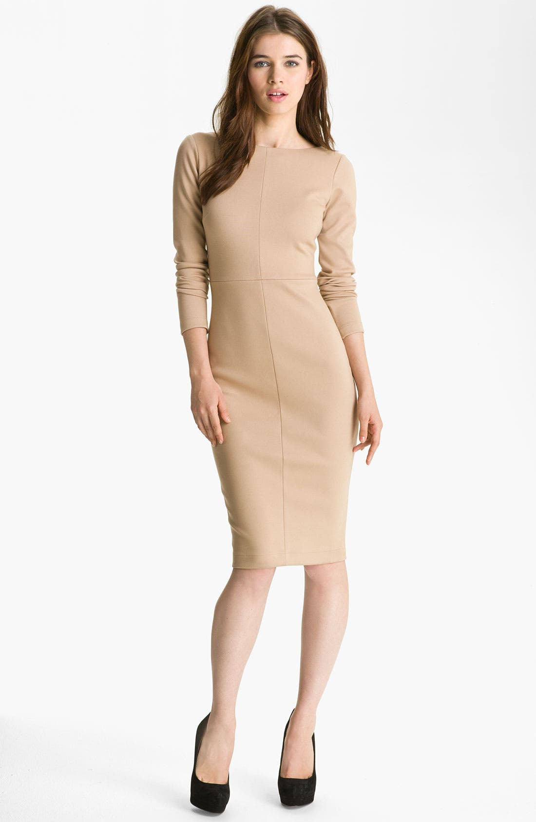 Alternate Image 1 Selected - Robert Rodriguez Long Sleeve Pencil Dress