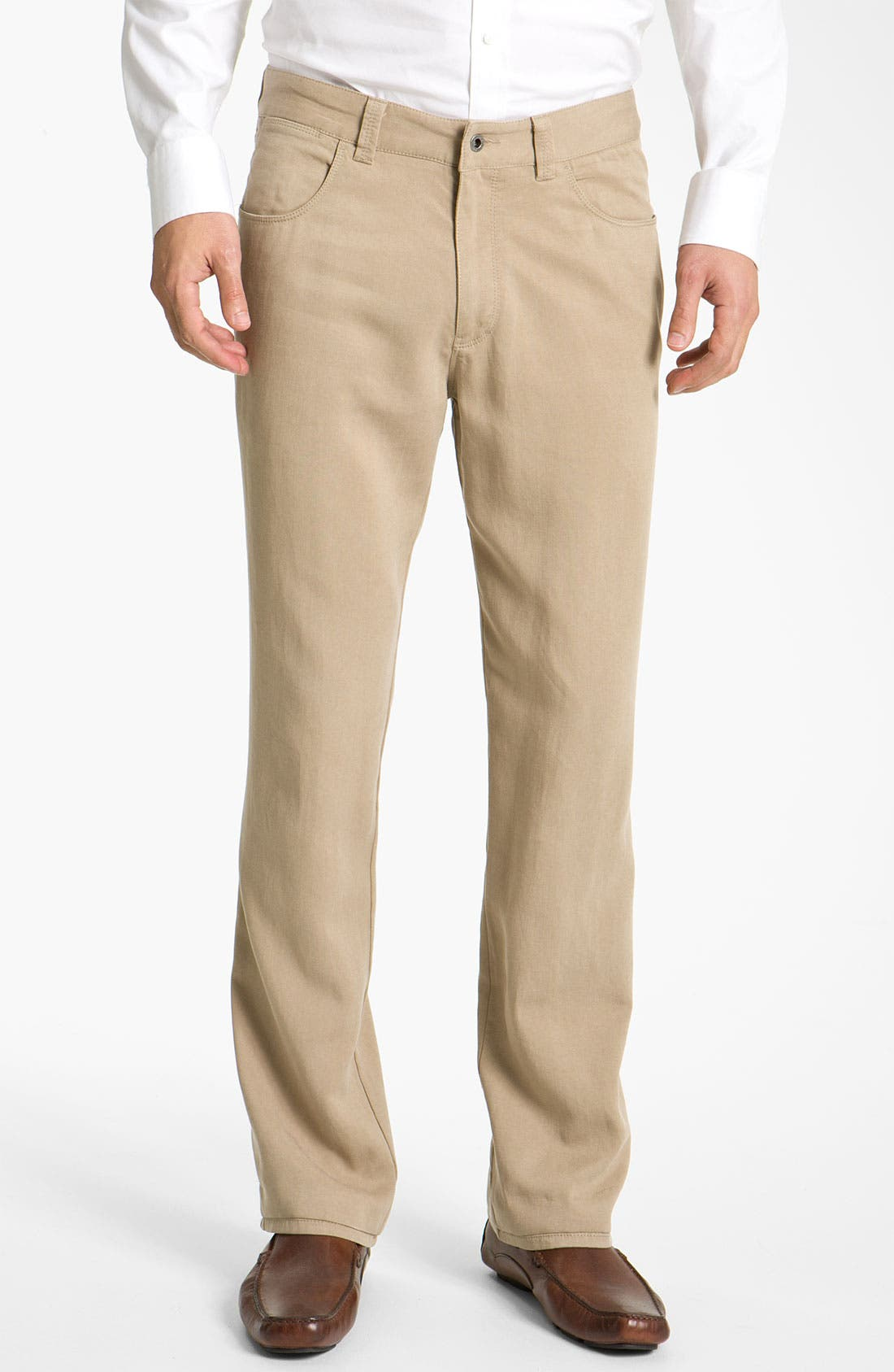 Main Image - Tommy Bahama 'Bali Five' Relaxed Straight Leg Pants