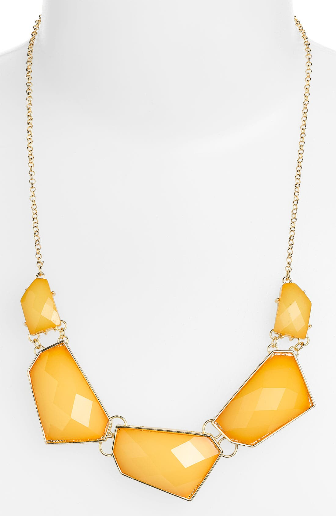 Alternate Image 1 Selected - Stephan & Co. Facet Statement Necklace