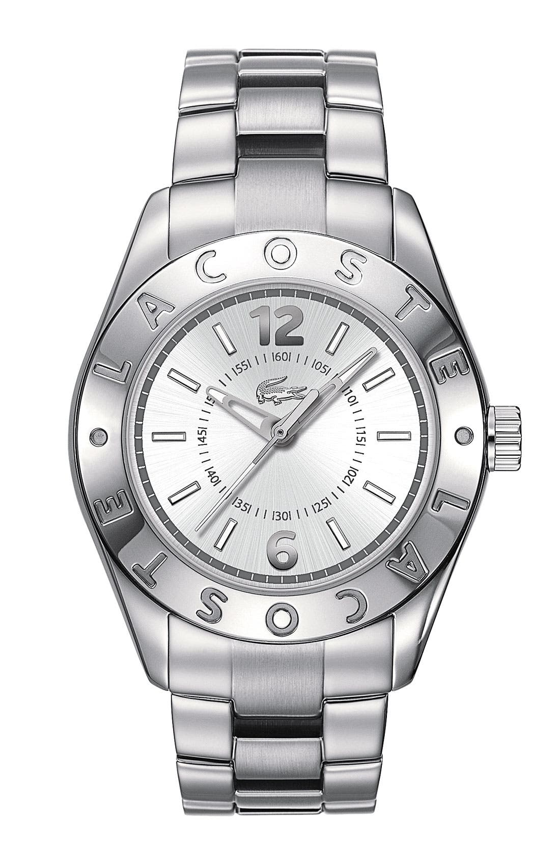 Alternate Image 1 Selected - Lacoste Round Bracelet Watch, 38mm