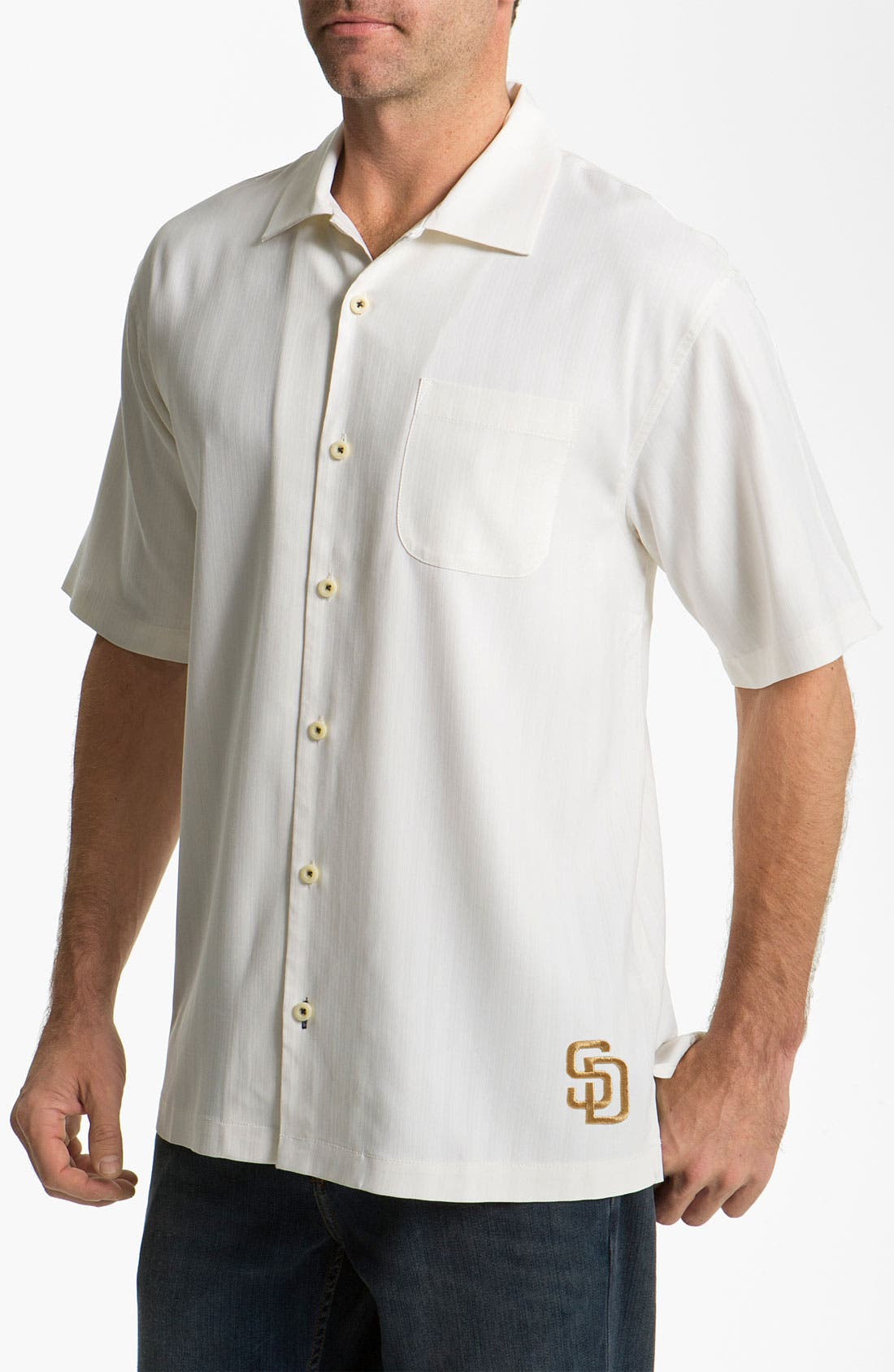 Alternate Image 1 Selected - Tommy Bahama 'America's National Pastime' Sport Shirt