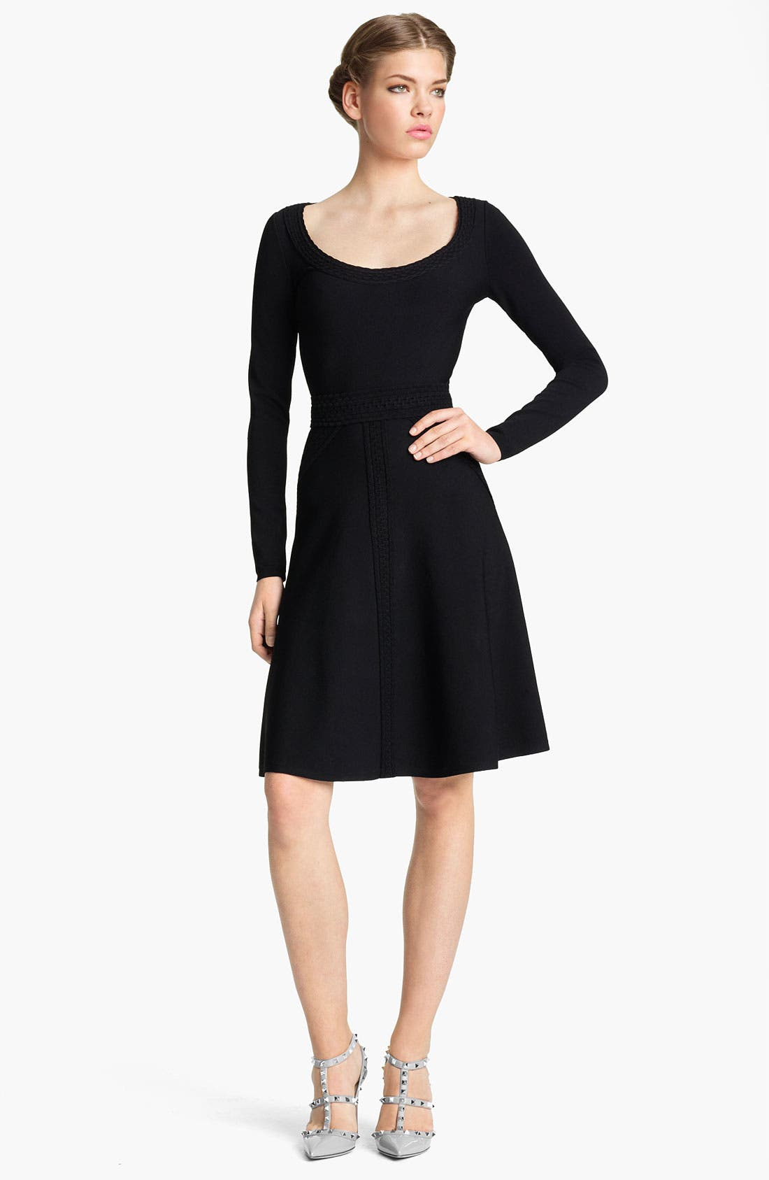 Alternate Image 1 Selected - Valentino Stretch Knit Dress
