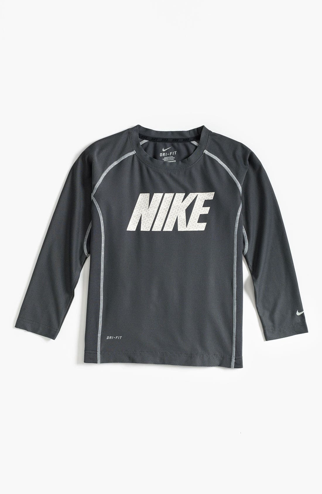 Alternate Image 1 Selected - Nike 'Speed Fly' Top (Little Boys)