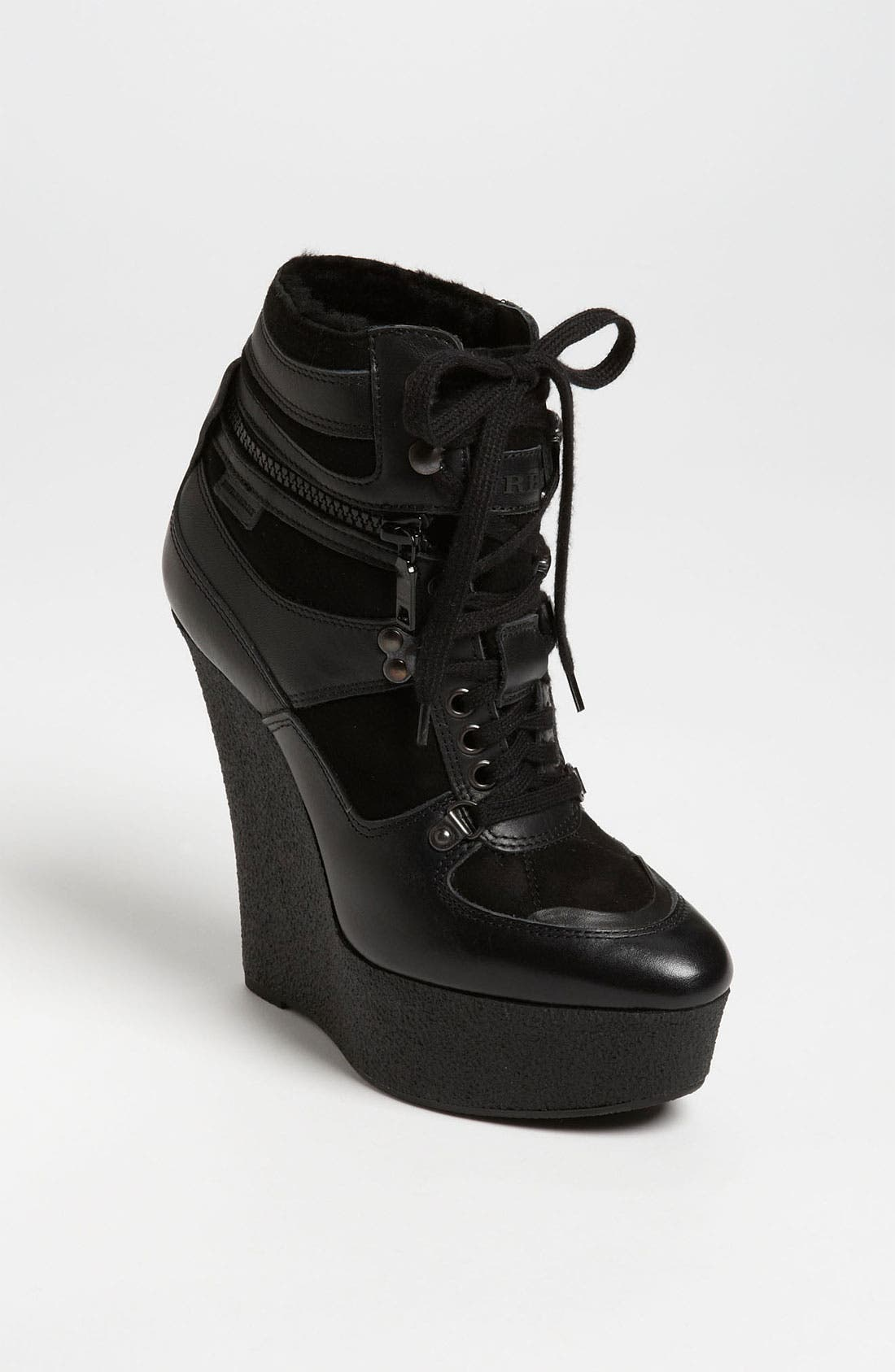 Main Image - Burberry Wedge Bootie