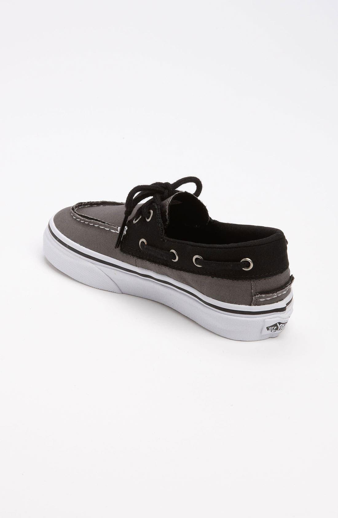 Alternate Image 2  - Vans 'Zapato del Barco' Boat Shoe (Baby, Walker, Toddler, Little Kid & Big Kid)