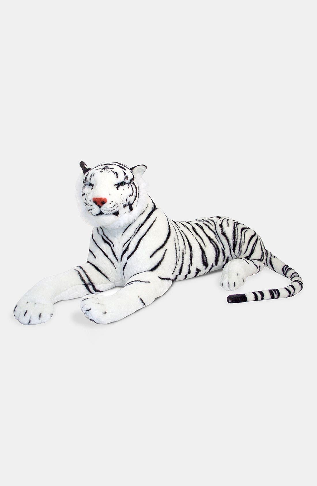 Alternate Image 2  - Melissa & Doug Oversized Plush Stuffed White Tiger