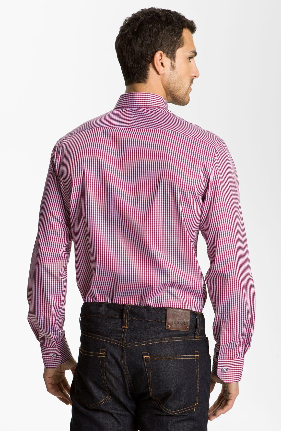 Alternate Image 2  - Paul Smith London Gingham Dress Shirt
