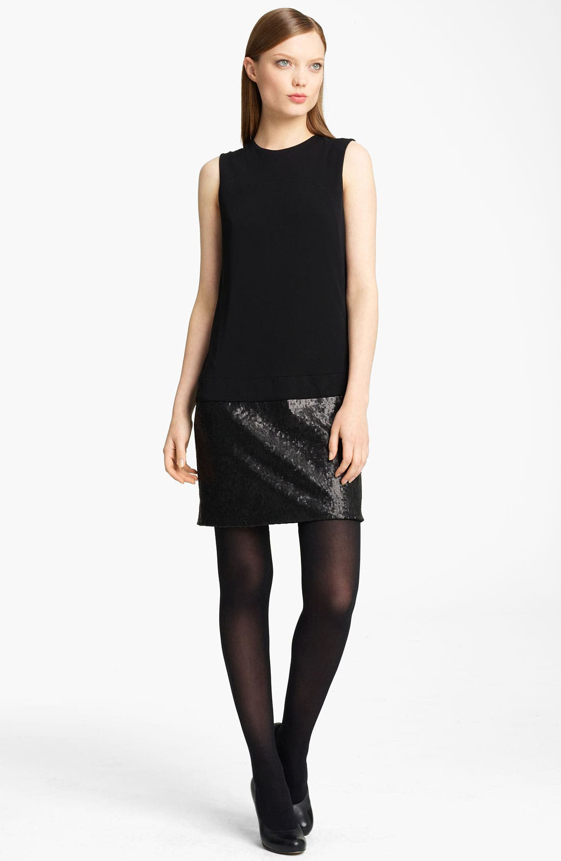 Alternate Image 1 Selected - Lida Baday Jersey & Sequin Minidress