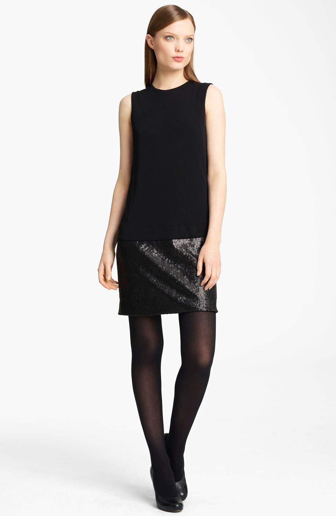 Main Image - Lida Baday Jersey & Sequin Minidress