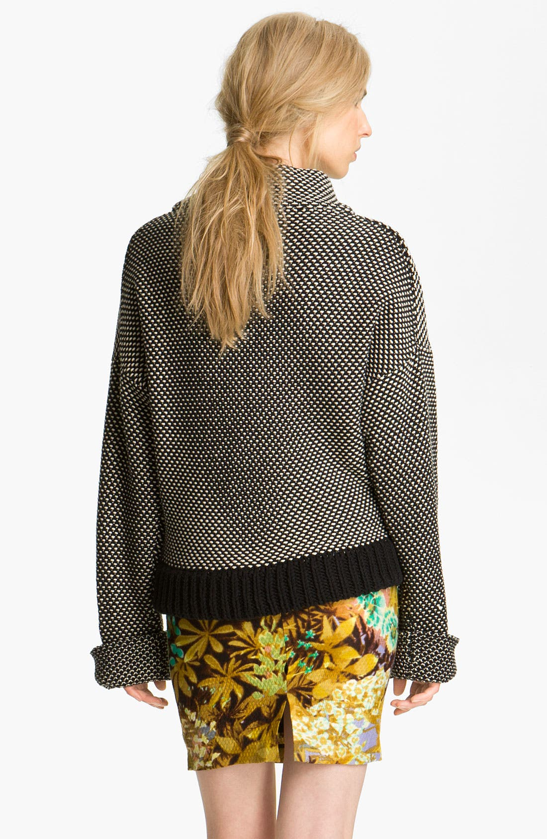 Alternate Image 2  - Tracy Reese Two Tone Sweater