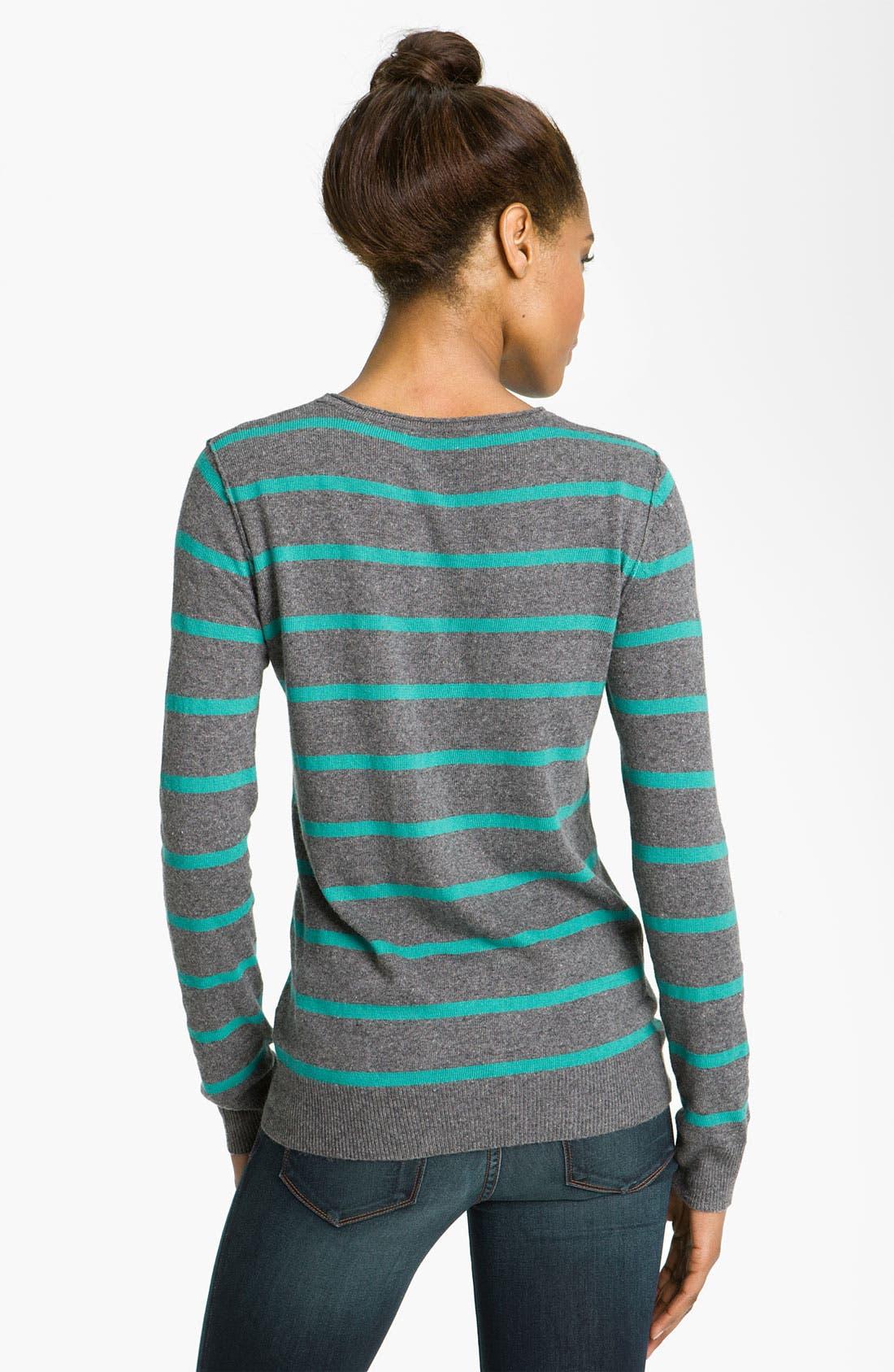 Alternate Image 2  - Press Stripe Sweater